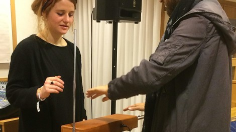 BeatMeet - Test av Theremin